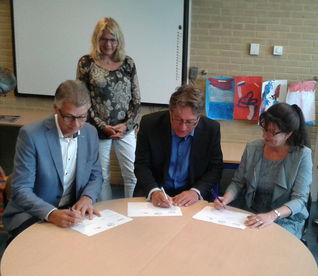 Ondertekening SBO de Brug v2